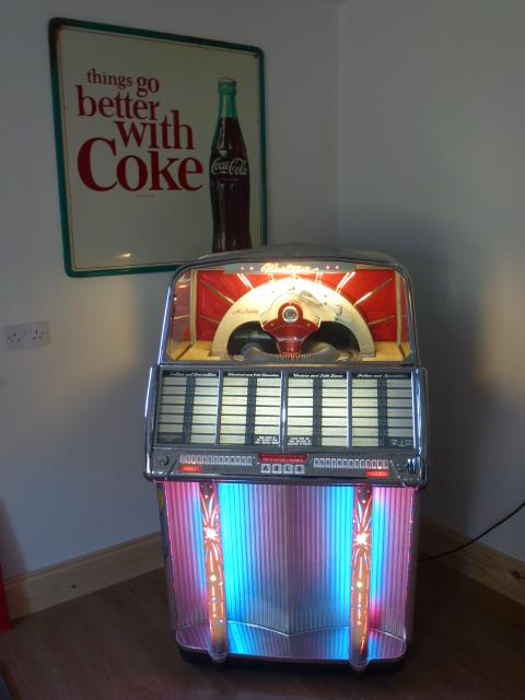 Wurlitzer 1800 - Jukebox Revival